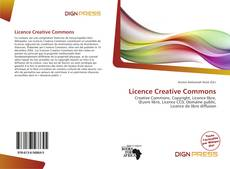 Обложка Licence Creative Commons