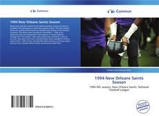 Bookcover of 1994 New Orleans Saints Season