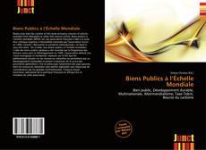 Capa do livro de Biens Publics à l'Échelle Mondiale
