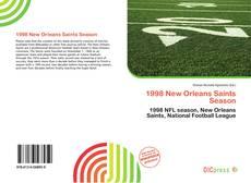 Bookcover of 1998 New Orleans Saints Season