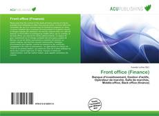 Buchcover von Front office (Finance)