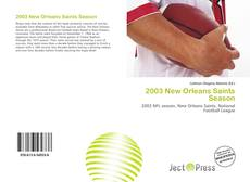 2003 New Orleans Saints Season kitap kapağı