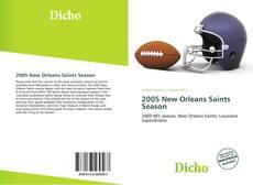 2005 New Orleans Saints Season kitap kapağı