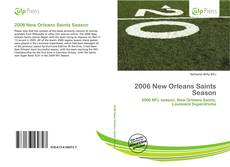 2006 New Orleans Saints Season kitap kapağı