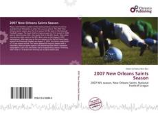 2007 New Orleans Saints Season kitap kapağı