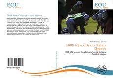 2008 New Orleans Saints Season kitap kapağı