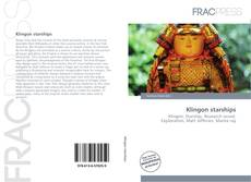 Bookcover of Klingon starships