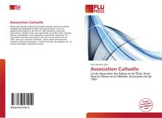 Bookcover of Association Cultuelle