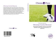 Capa do livro de Christian Corrêa Dionisio