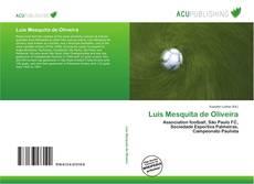 Couverture de Luís Mesquita de Oliveira