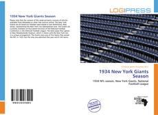 Portada del libro de 1934 New York Giants Season