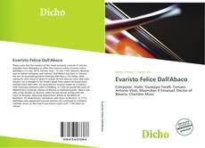 Bookcover of Evaristo Felice Dall'Abaco