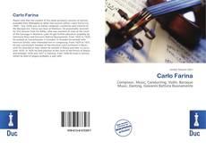 Buchcover von Carlo Farina
