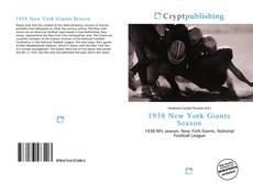 1938 New York Giants Season的封面