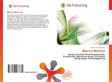 Bookcover of Marco Werner