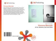 Florence Biennale的封面