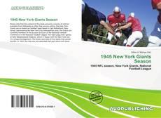 Обложка 1945 New York Giants Season