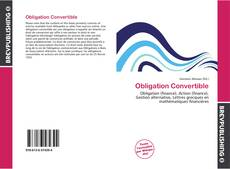 Obligation Convertible kitap kapağı