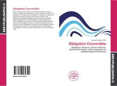Buchcover von Obligation Convertible
