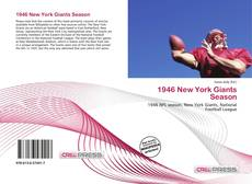 Portada del libro de 1946 New York Giants Season
