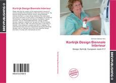 Copertina di Kortrijk Design Biennale Interieur