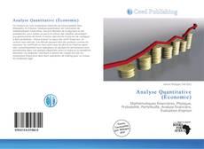 Couverture de Analyse Quantitative (Économie)