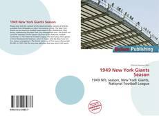 Portada del libro de 1949 New York Giants Season
