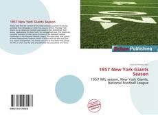 Portada del libro de 1957 New York Giants Season