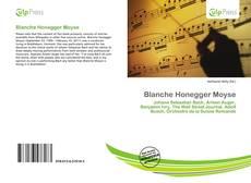 Blanche Honegger Moyse的封面
