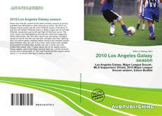 Bookcover of 2010 Los Angeles Galaxy season