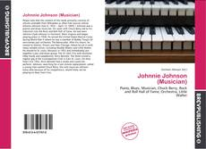 Portada del libro de Johnnie Johnson (Musician)