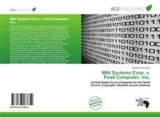 Copertina di MAI Systems Corp. v. Peak Computer, Inc.