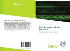 Buchcover von DOS Protected Mode Interface
