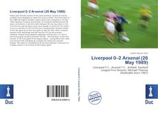 Portada del libro de Liverpool 0–2 Arsenal (26 May 1989)