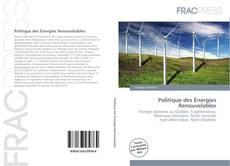 Capa do livro de Politique des Énergies Renouvelables
