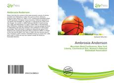 Bookcover of Ambrosia Anderson