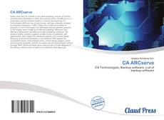 Bookcover of CA ARCserve