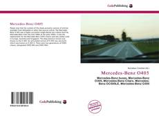 Couverture de Mercedes-Benz O405