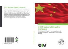 Capa do livro de 2011 National People's Congress