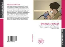 Portada del libro de Christopher Erhardt