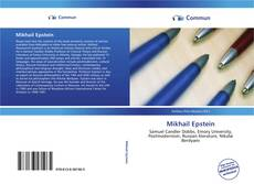 Bookcover of Mikhail Epstein