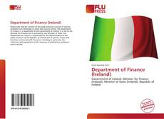 Bookcover of Department of Finance (Ireland)