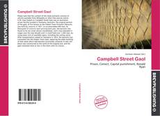 Bookcover of Campbell Street Gaol