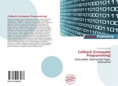 Portada del libro de Callback (Computer Programming)