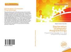 Portada del libro de Declaration (Computer Programming)