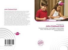 Buchcover von John Caldwell Holt