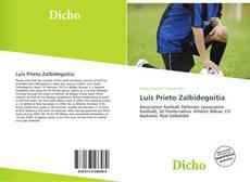 Bookcover of Luis Prieto Zalbidegoitia