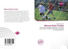 Capa do livro de Manuel Ortiz Toribio