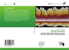 Davy Knowles kitap kapağı