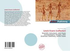 Bookcover of Lewis Evans (collector)
